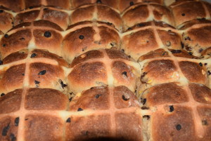 Oak and Swan Hot Cross Buns